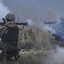 Боевики ВСУ три раза за вчера обстреляли территорию ЛНР