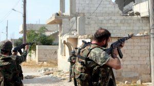 Сирийские войска начали наступление в провинциях Хама и Идлиб
