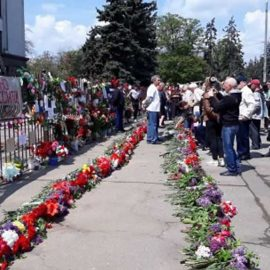 В Одессе уничтожили памятные таблички жертвам 2-го мая