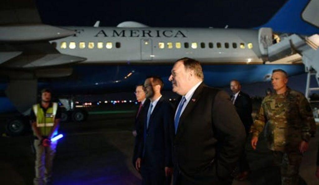 госсекретарь США Майк Помпео внезапно прибыл в Ирак