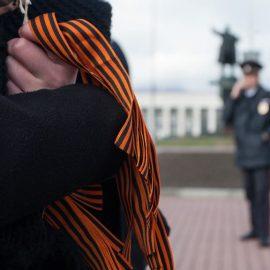 Полиция Одессы пригрозила уголовной ответственностью за появление с георгиевской лентой