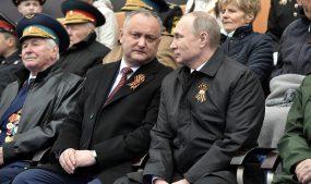 Глава Молдавии поздравил Владимира Путина с Днём Победы