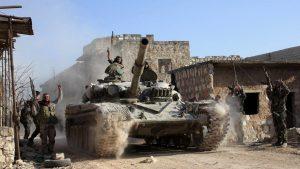 Сирийская армия заняла город Кафр Набуда в провинции Хама