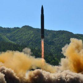 Северная Корея запустила «неопознанный» снаряд