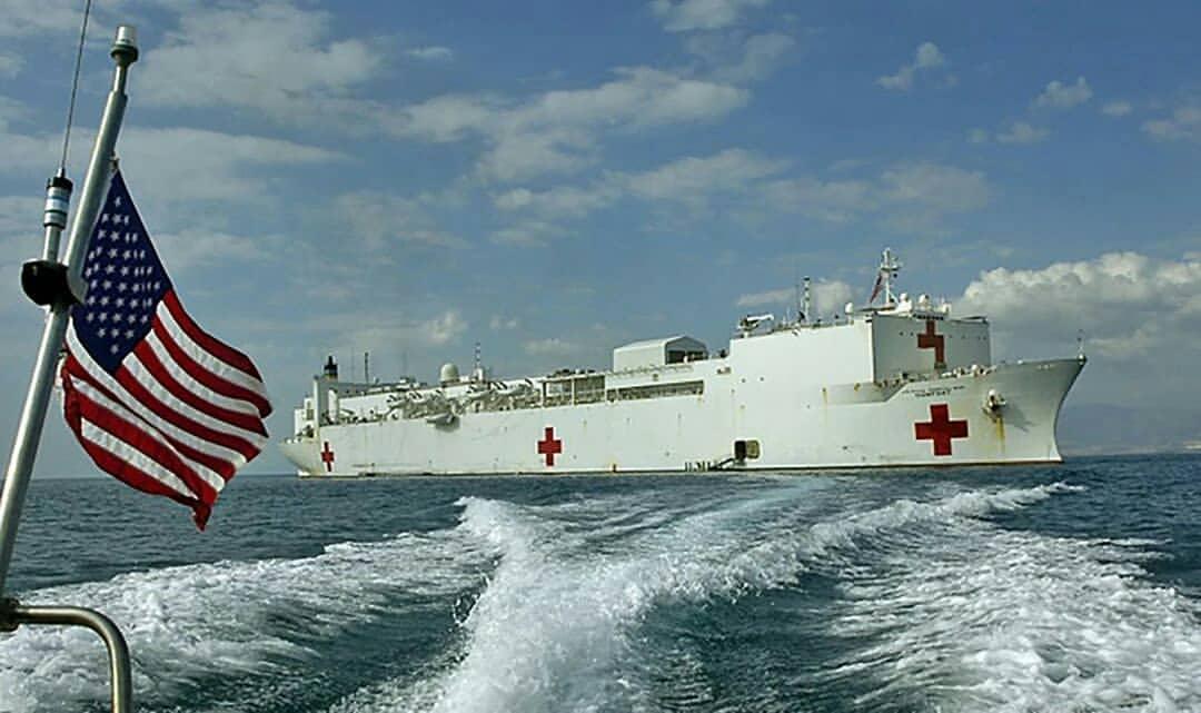госпитальный корабль ВС США USNS Comfort