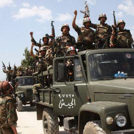 Сирийская армия освободила крупный район на севере провинции Хама