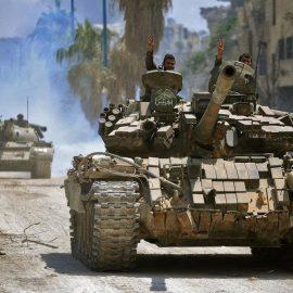 Сирийская армия отбила крупное наступление боевиков в провинции Хама