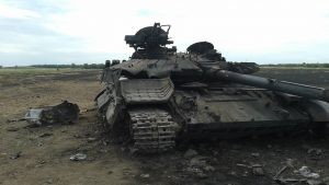 Боевое применение танков на Донбассе