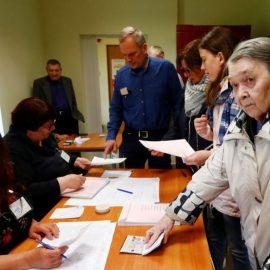 Президентские выборы в Литве: первые результаты