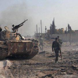 Сирийские войска отбили крупное наступление боевиков в провинции Хама