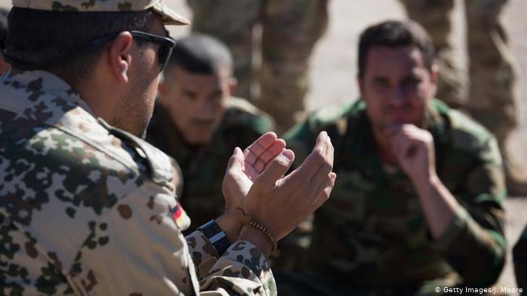 военные ФРГ в Ираке