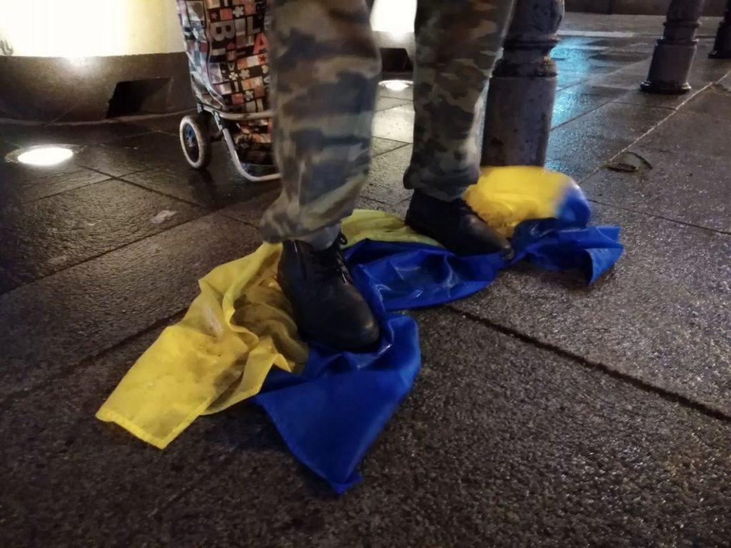 Добровольцы сорвали попытку антироссийских выпадов-акций в Питере