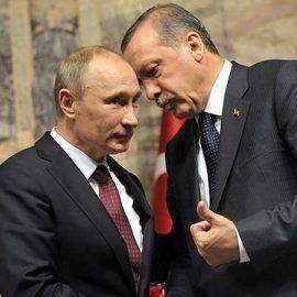 Poutine a négocié sur la Syrie avec Erdogan