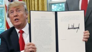 Трамп подписал указ