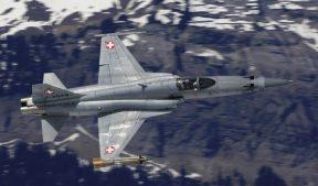 Истребитель F-5 ВВС Швейцарии