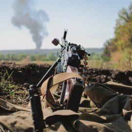 По ДНР за сутки выпущены сотни снарядов боевиков ВСУ