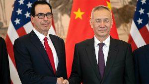 Торговые переговоры между США и Китаем, зашли в тупик, сообщает телеканал CNBC со ссылкой на источники знакомые с ситуацией. Переговоры осложнились после вступления в силу 10 мая 2019 года повышенных таможенных пошлин на товары, импортируемые из Китая, стоимостью $200 млрд. в год.