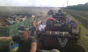 Жилые дома Волновахи захвачены оккупантами-морпехами ВМСУ