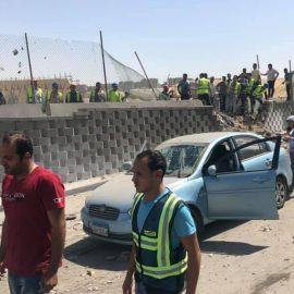 Туристический автобус подорвался в районе египетских пирамид