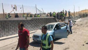 автобус подорвался на дороге возле пирамид Гизы