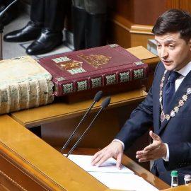 Владимир Зеленский дал распущенной Раде последний наказ