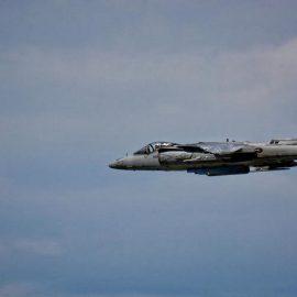 В США разбился военный самолет