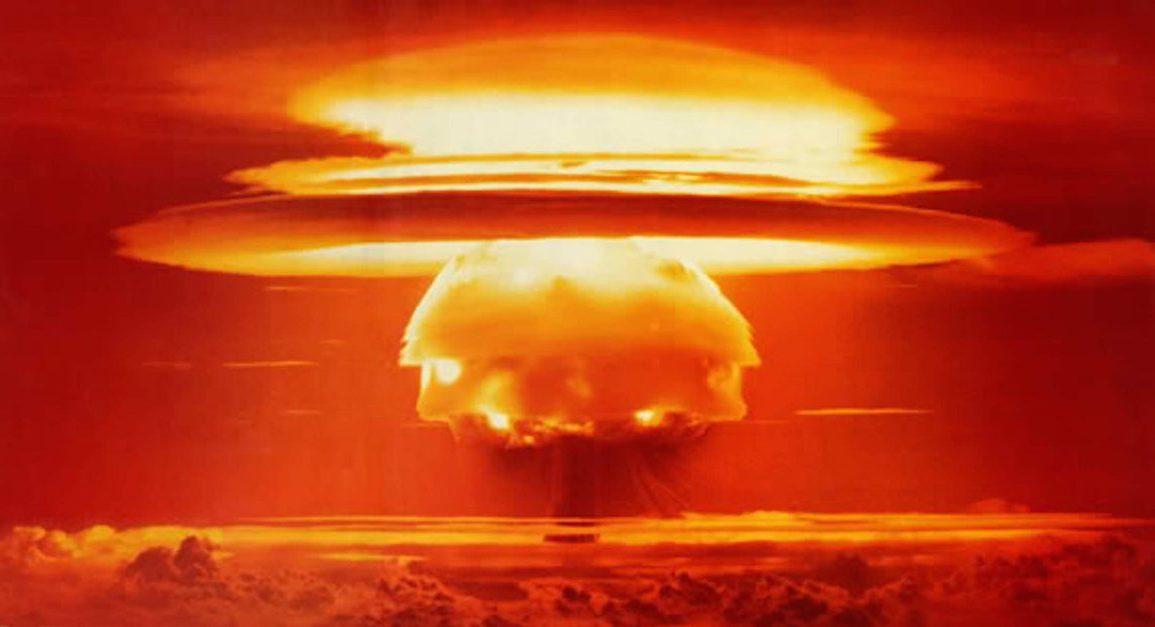 """термоядерный взрыв бомбы """"Браво"""""""