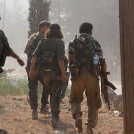 Боевики «оппозиции» захватили город Кафр Набуда на севере провинции Хама