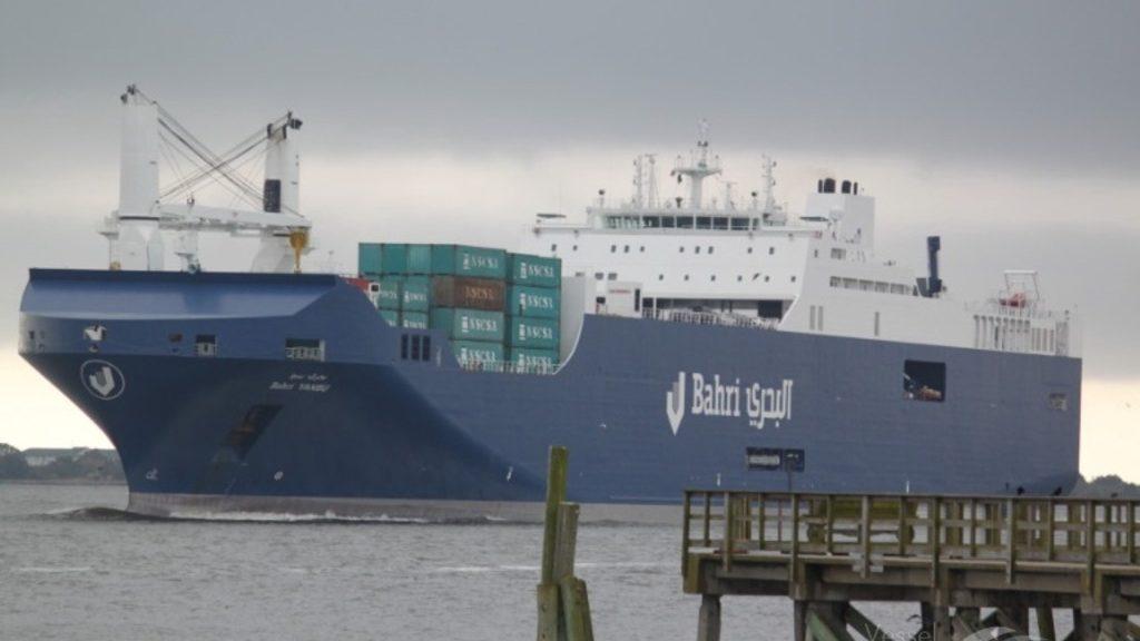 саудовское судно Bahri-Yanbu