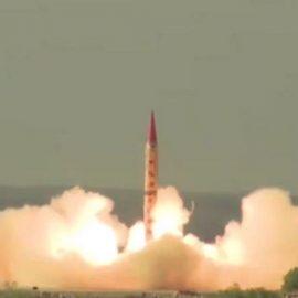 Пакистан успешно запустил баллистическую ракету — [видео]
