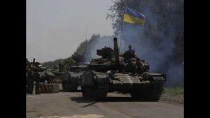 На трассе Константиновка - Волноваха колонна боевиков ВСУ устроила жёсткое ДТП