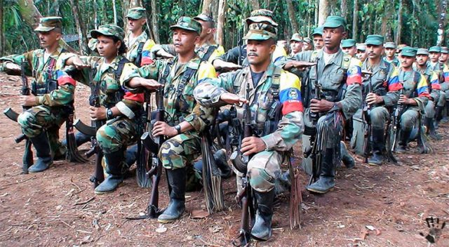 революционеры-партизан Колумбии FARC