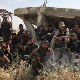 Сирийская армия отбила город Кафр Набуда на севере провинции Хама