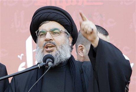 Генеральный секретарь ливанского движения Хизбалла Сайед Хасан Насралла