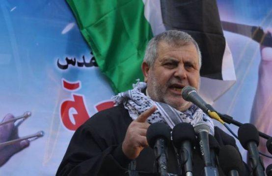 Лидер палестинского движения «Исламский джихад» Халед аль-Батш
