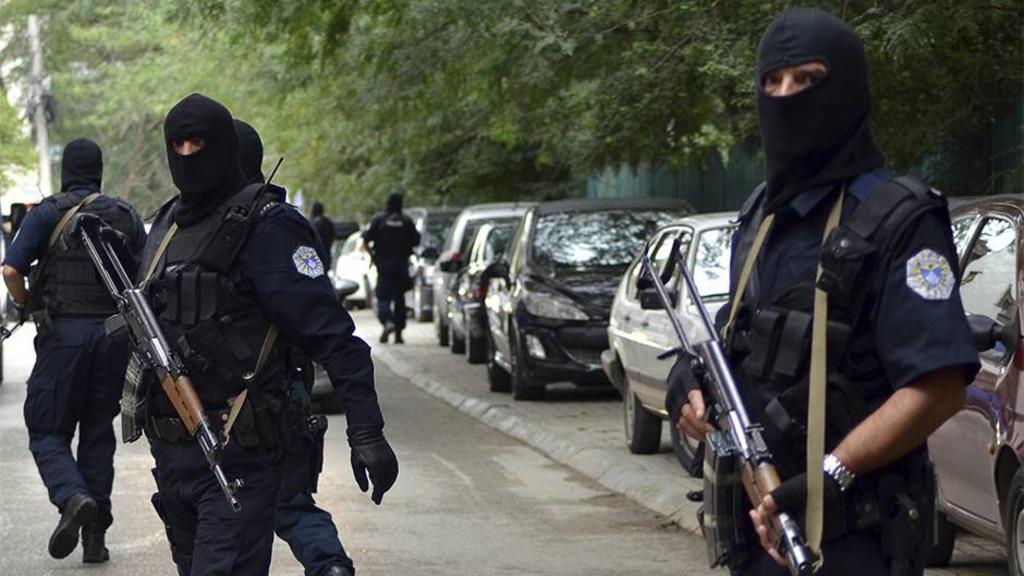 косовско-албанский спецназ ROSU на севере Косова