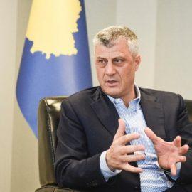 Глава Косова прокомментировал арест россиянина и сербов