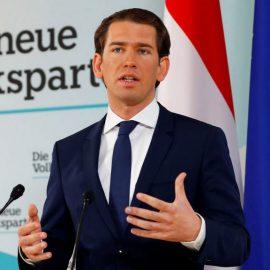 Себастьян Курц отправлен в отставку с поста австрийского канцлера