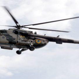 В Ровенской области разбился вертолет Ми-8 ВСУ