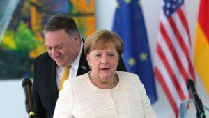 Помпео призывает ФРГ увеличить вклад в НАТО, чтобы «запугать Россию»