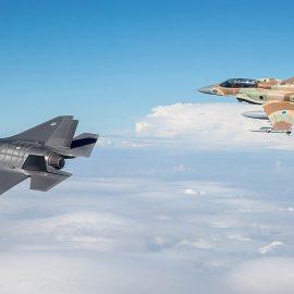 Самолёты ВВС Израиля нанесли удар по сирийской авиабазе в провинции Хомс