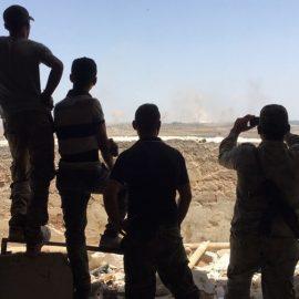 Сирийская армия штурмует границу провинции Идлиб