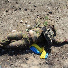Небоевые потери среди карателей Донбасса растут