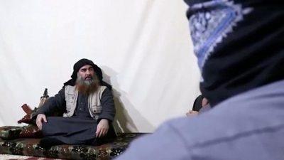 Аль Багдади, лидер террорристической организации ИГИЛ (запрещена в РФ)