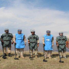 В Сирию прибыла новая группа армянских военных