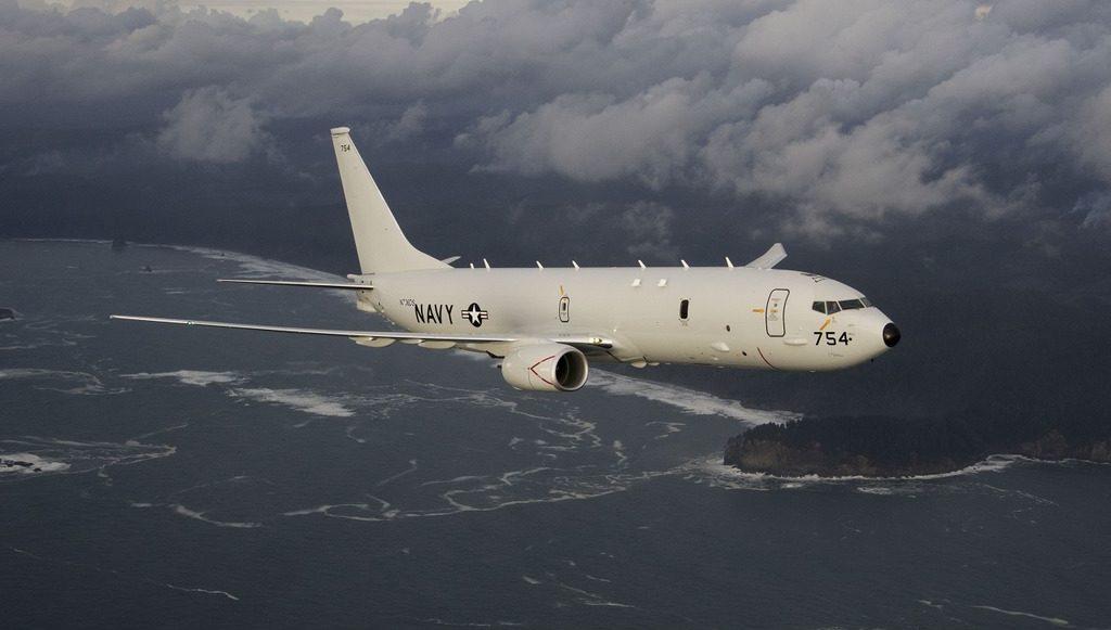 самолет-разведчик США P-8 Poseidon