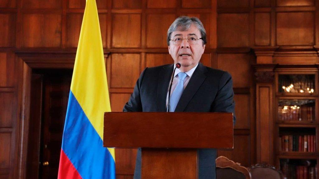 глава МИД Колумбии Карлос Олмес Трухильо