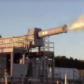 ВМС США испытали гиперзвуковую электропушку — рельсотрон