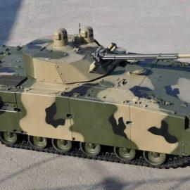 Корпорация «Ростех» представит робототехнический комплекс «Паладин» на шасси БМП-3 на «Армии-2019»