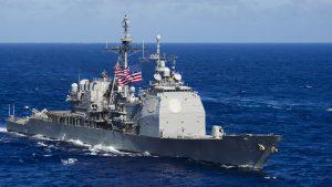 Крейсер США пошел наперерез российскому кораблю